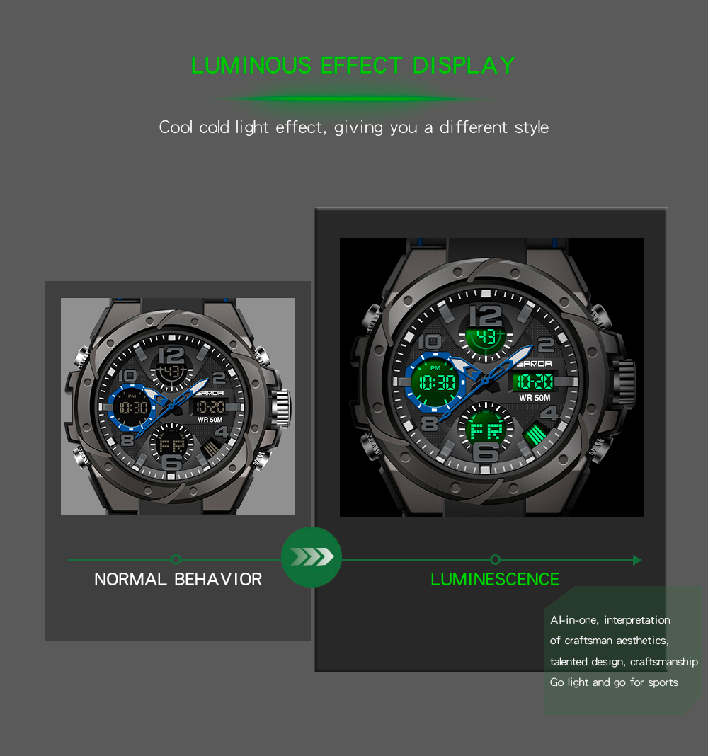 H2b0b2e590d2c4f25b829b1595d24fdccY SANAD Top Brand Luxury Men's Military Sports Watches 5ATM Waterproof