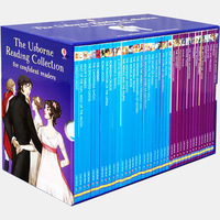 40 books/set The Usborne Reading Collection for confident readers: My fourth reading library learning English story book