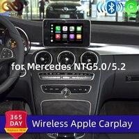 Sinairyu Wireless Apple Carplay for Mercedes A B C E G CLA GLA GLC S Class Car play Android Auto/Mirroring 2015 2019 NTG5 W205