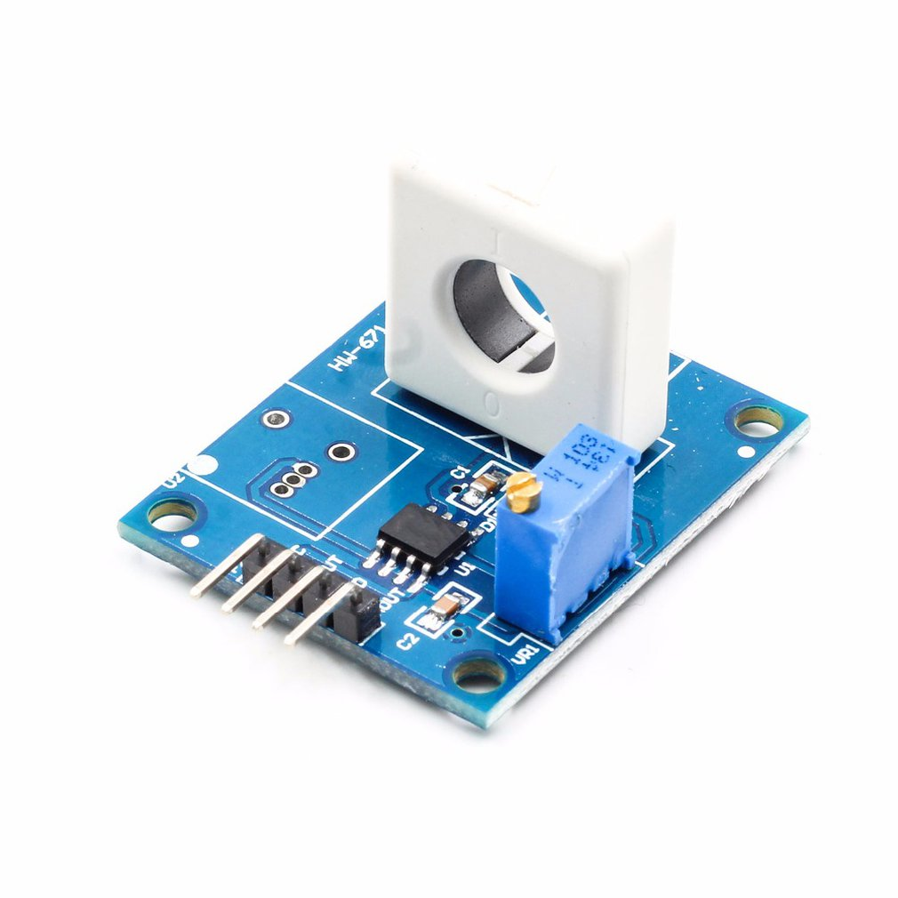 Wcs1800 Hall Current Sensor Detects 35A Short/Overcurrent Protection Module For Easy And Easy Installation