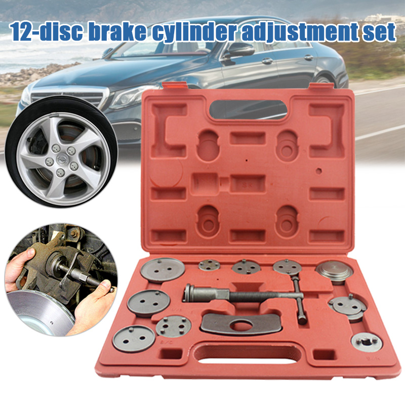 Pump-Adjustment-Set Brake-Pad Disassembly-Tool Auto-Repair-Tool-Set New 12PCS