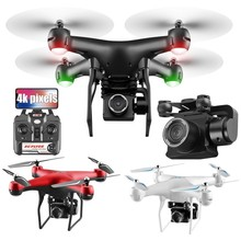 4K Drone With Camera Rotating HD Quadcopter 1080P Wifi FPV Professional Flight 25 Minutes RC Helicopter Drohne