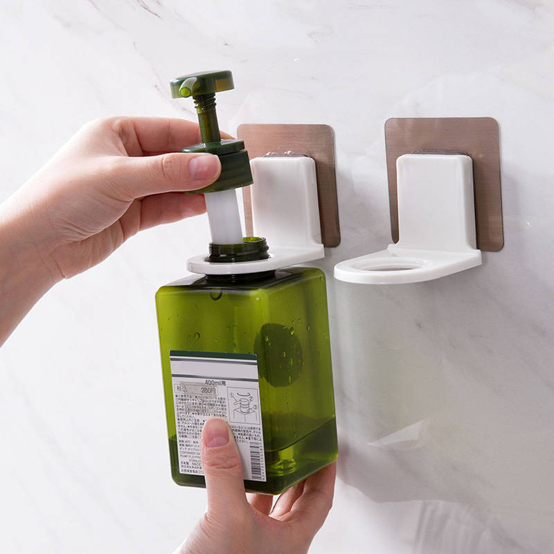 Newly Shower Gel Bottle Without Hook Wall-mounted Hanger Waterproof And Moisture Proof