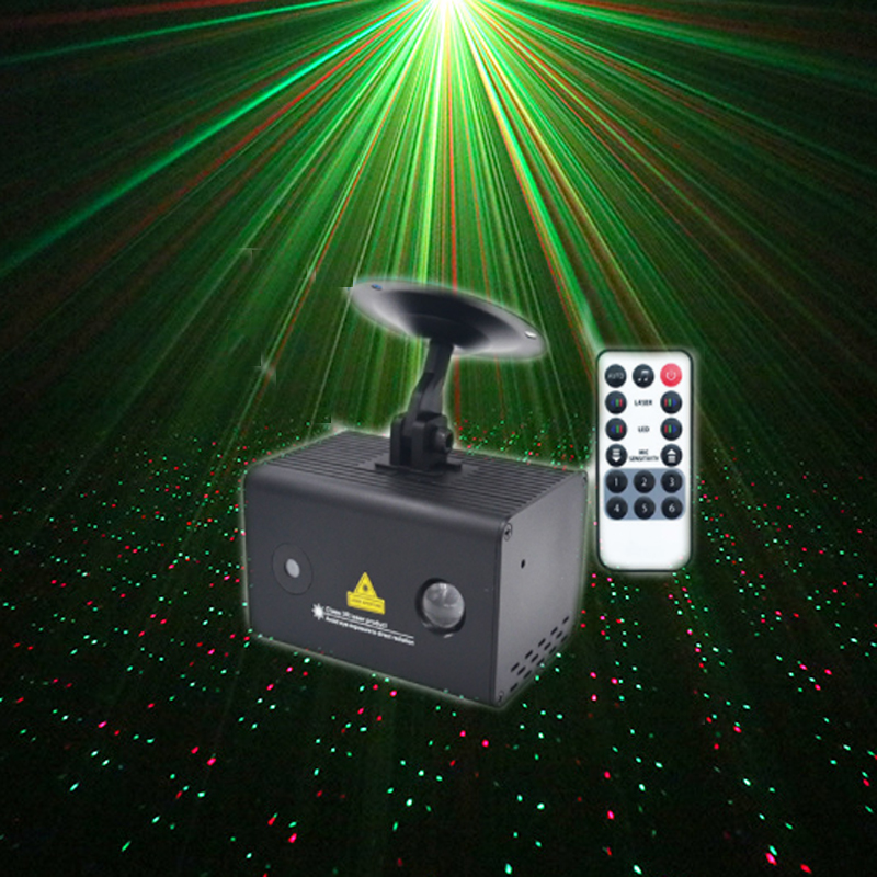 Remote Water Galaxy Effect Full RG Stage Laser Light Color RGB LED Light Fiesta Stage Xmas Party Meteor Shower