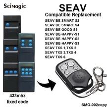 SEAV TXS 1,2, 3,4, 6 дубликатор дистанционного управления 433,92 МГц SEAV BE HAPPY S1, HAPPY S3, BE SMART S2 командный передатчик