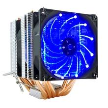 Cpu-Cooler Cooling-Fan Heat-Pipes Quiet 1155 1151 90mm AMD Intel 4-Pin Snowman 6 AM4