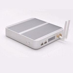 Image 2 - Linux/komputera z systemem Windows 10 i5 4200U/5550U i5 5250U/5200U i5 7200U procesor bez wentylatora htpc.3 lata gwarancji Nuc HD620 darmowa wysyłka