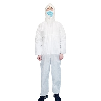 PPE Clothing  Anti-bite Anti-virus Garden Clothing Suit Outdoor Work Protection Anti Saliva Splash Plegable Cloth With Hard Hat
