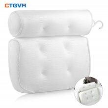 3d подушка для ванны дышащая сетчатая поддержка спины спа водонепроницаемая