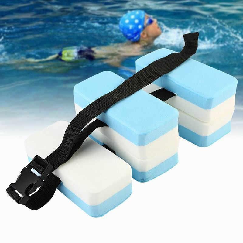 เข็มขัดปรับเด็กว่ายน้ำเอวการฝึกอบรมเสริมน้ำกีฬาอุปกรณ์สระว่ายน้ำ