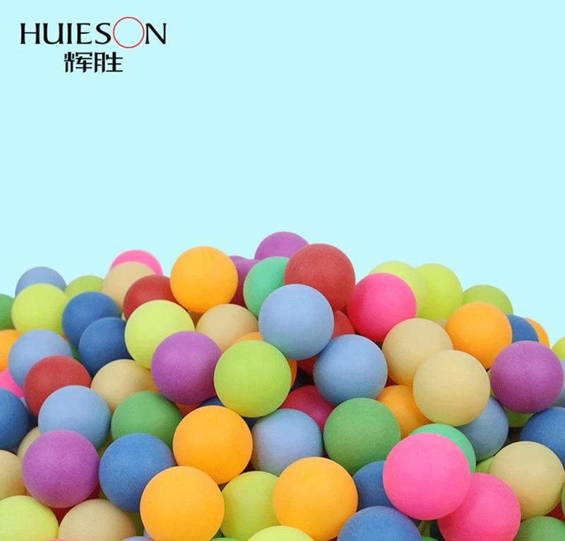 Ivanbac 50Pcs//Pack couleur Ping Pong Balles 40 mm 2.4 G Divertissement Tennis de Table