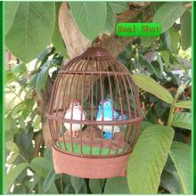 Voice changer stress relief dzieci zabawki dla dorosłych ciekawe rzeczy symulacja aktywowane głosem klatki dla ptaków zadzwoń ruchome papugi dla chłopca tanie tanio lamansu Z tworzywa sztucznego 3pcs AA battery Unisex 000000 Muzyka 22*10CM 3 lat