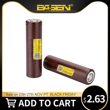 Basen New Original HG2 18650 3000mAh Battery 3.6V High Power Discharge 18650 Rechargeable Batteries 30A Large Current Battery jouym icr18650 30q 18650 3000mah rechargeable battery 30a large current 18650 high current power discharge welding nickel sheets
