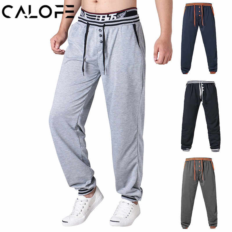 2020 men's Running Jogging Pants Men Basketball Football Athletic Training Pants Fitness Workout Running Workout Sport Trousers