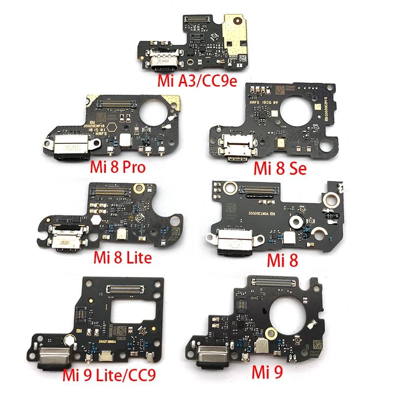 Charger Board PCB Flex For Xiaomi Mi 8 Lite 9 Se 9T CC9 A3 8se USB Port Connector Dock Charging Ribbon Cable