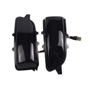 Image 2 - 2pcs Dynamic Blinker For Volvo V40 2013 2016 manual folding inverted mirror LED Turn Signal Mirror Light Flasher Arrow