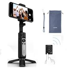 Hohem iSteady X2 Smartphone 3 ציר Gimbal עם שלט רחוק מתקפל כף יד טלפון מייצב עבור iPhone/סמסונג/huawei