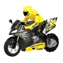 2.4G 1: 6 Self-Balancing Stunt Motorcycle Racing Remote Control Car 360° Drift