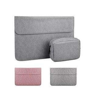 ПУ водонепроницаемый рукав сумка для ноутбука чехол для Macbook Air Pro Retina 13 14 15 дюймов XiaoMi чехол для ноутбука Huawei Matebook Shell