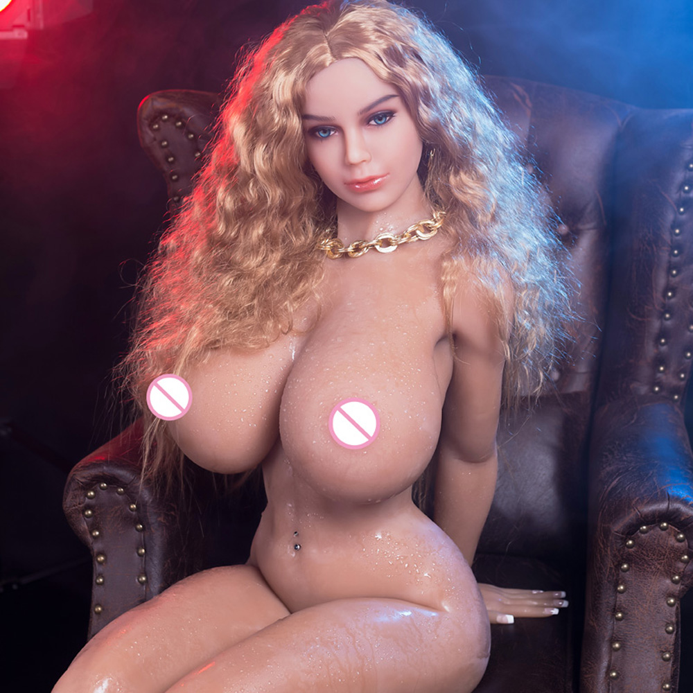 <font><b>155cm</b></font> <font><b>Sex</b></font> <font><b>Doll</b></font> Big Breast Realistic Full Silicone Japanese <font><b>Doll</b></font> Artificial Vagina Real TPE and Metal Skeleton Sexy Beauty image