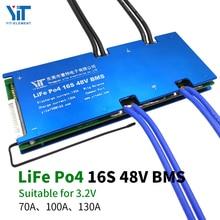 16S 48V batteria Al Litio di alimentazione 3.2V bordo di protezione di protezione di temperatura funzione di protezione da sovracorrente di equalizzazione BMS PCB