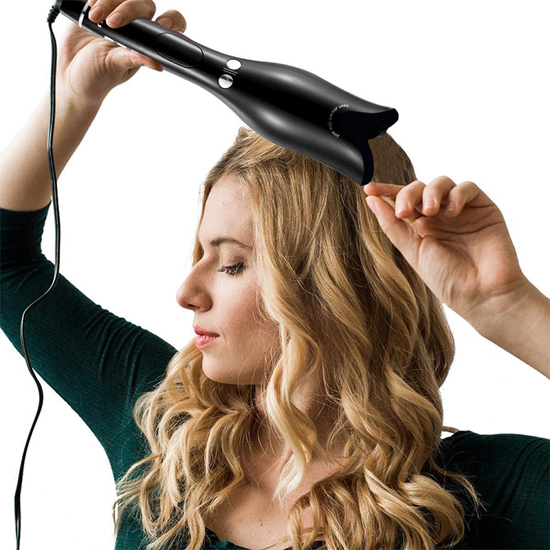 2019 Rose-shaped Multi-Automatic Hair Curler LCD Rotating Magic Curling Iron Professional Hair Styler Wave Hair Styling Tools