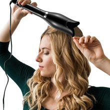 2019 Rose-shaped Multi-Automatic Hair Curler LCD Rotating Magic Curling Iron Pro