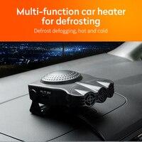 2019 nuevo ventilador de calor 12V calentador de automóvil portable calentador de parabrisas secador de aire Defroster de parabrisas para vehículo