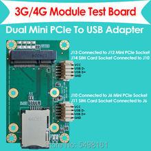 Mini PCI-E Mini PCI-Express к USB адаптеру, карта WWAN к USB адаптеру со слотом для sim-карты для 3g/4G LTE WWAN/LTE модуля