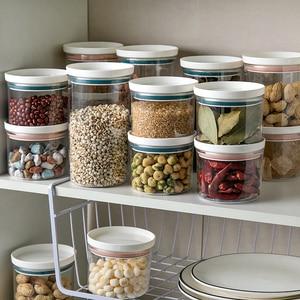 1PCS Kitchen Food Transparent Storage Box, Reusable Storage Box, Waterproof And Moisture-proof Storage Sealed Storage Box