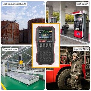 Image 5 - RZ Compoud Khí Màn Hình Màn Hình LCD Hiển Thị Sạc Đa Năng 4 In1 Cháy O2 H2S Cảm Biến Khí CO Rung Nhẹ báo Động