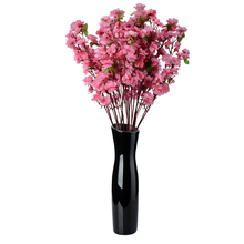 MrY 65CM Artificia Flowers Cherry Spring Plum Peach Blossom Branch Silk Flower Tree Fake Plants Household Wedding Decor
