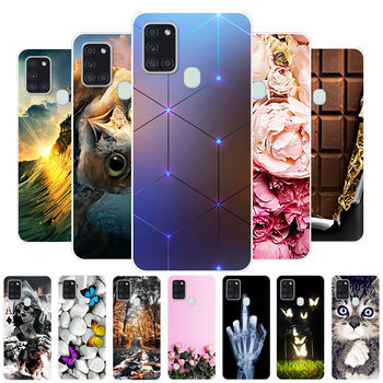 For Galaxy A21S Case Samsung Galaxy A21S Case Silicone TPU Soft Back Cover Phone Case For Samsung A21S A 21S A21 S Coque Bumper s style protective tpu back case for samsung galaxy note 3 n9000 white