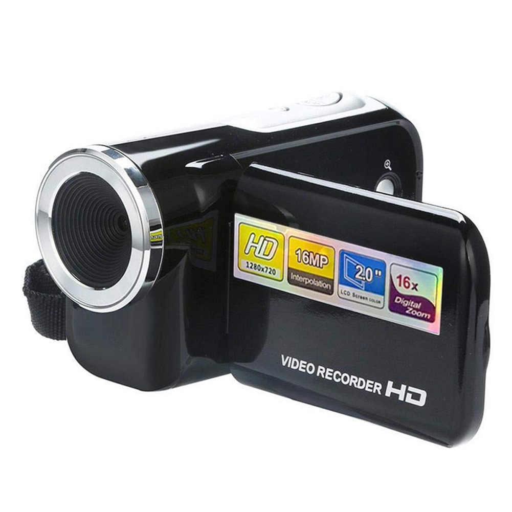 Protable ビデオカメラビデオカメラ 2 インチ画面 16 画素ミニデジタルカメラビデオカメラ JR セール