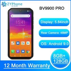 Смартфон Blackview BV9900 Pro, самый быстрый тепловизор, Helio P90, Android 9,0, 6 ГБ 128 ГБ, 48 МП, водонепроницаемый, прочный мобильный телефон