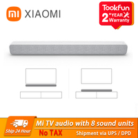 Xiaomi-Barra de Sonido de TV con Bluetooth, Altavoz inalámbrico portátil óptica SPDIF AUX para altavoces de música para cine en casa, novedad de 2020