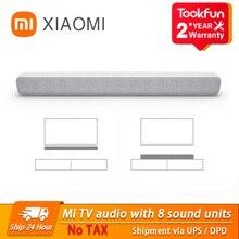 Новинка 2020, звуковая панель Xiaomi Bluetooth TV, Портативная Беспроводная колонка с поддержкой оптического SPDIF, AUX, для домашнего кинотеатра, Музыкал...