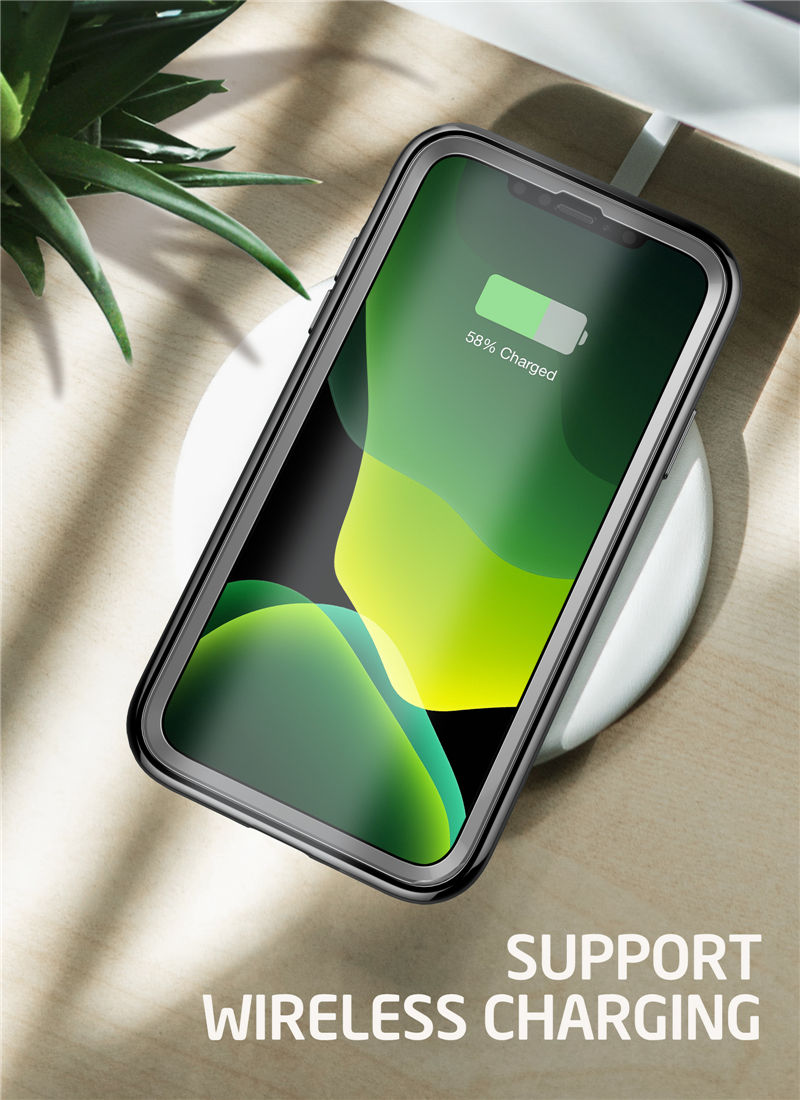 The Armour iPhone 11 Pro Max Metallic Electroplated Case With Screen Protector With Self Repair Technology