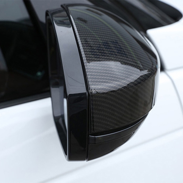 For Land Rover Discovery Sport Range Rover Evoque Velar Car Accessories Rear View Mirror Cover Caps Trim For Jaguar F-Pace X761 4