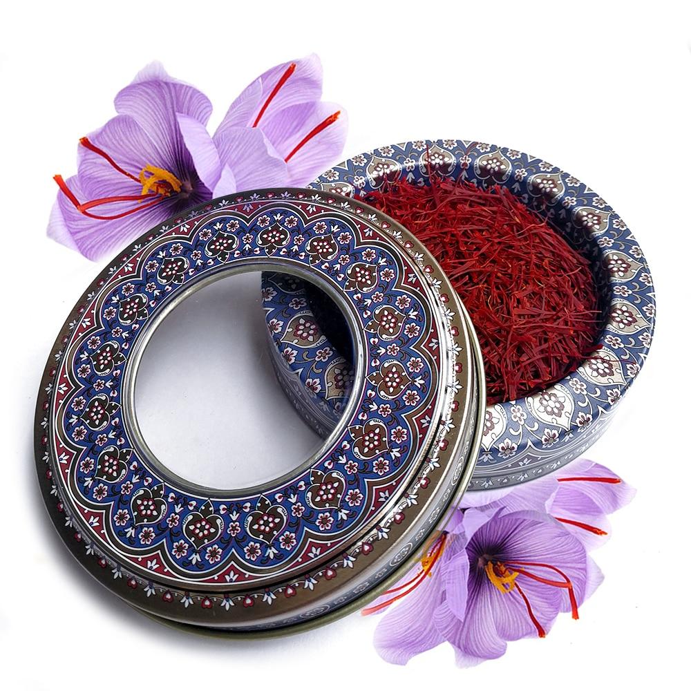 3g/6g Iranian Dired Saffron Threads All Red Negin Safron Spice Safran
