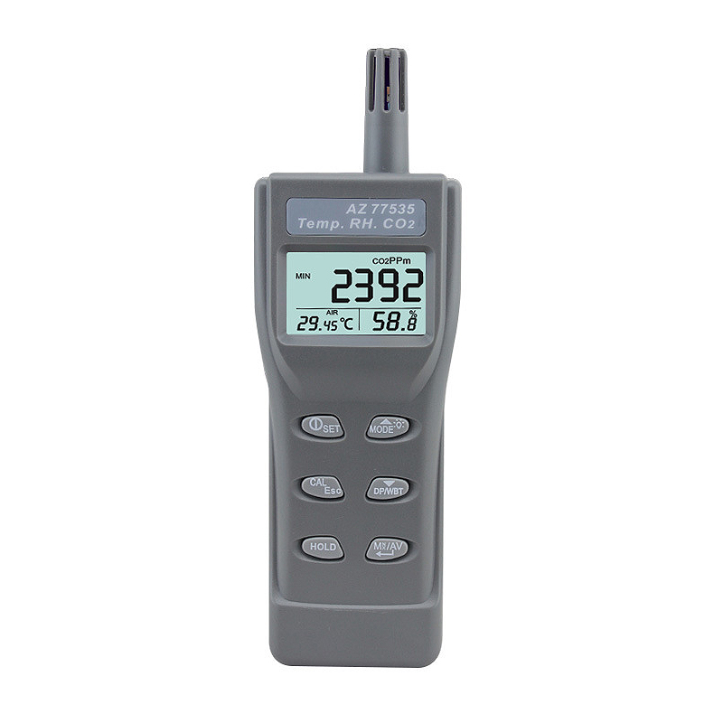 OPQ-Az-77535 Handheld Co2 Detector ,Carbon Dioxide Gas Detector Tester