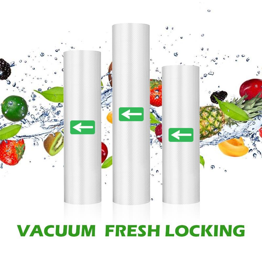 Food Vacuum Bag Storage Bags Rolls For Vacuum Sealer Long Keeping Food Fresh 12/15/20/25/30*500cm Rolls/Lot bags