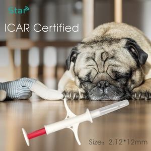 Image 4 - 40pcs ISO RFID Chip 2*12mm Plastic Injector Animal Id Tag Pet Microchips Syringe