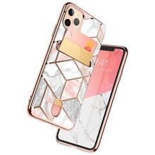 I BLASON Für iPhone 11 Pro Max Fall 6,5 zoll (2019 Release) cosmo Brieftasche Dünne Designer Karte Slot Brieftasche Fall Zurück Abdeckung