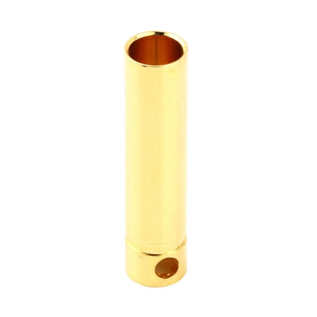 4.0mm Male&Femalel Banana gold Plug connectors For Battery ESC Motor Exquisitely Designed Durable Gorgeous