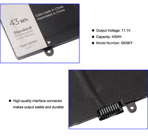 "Image 4 - Kingsener GK5KY Laptop Batterij Voor Dell Inspiron 13 ""7000 Series 7347 7348 7352 7353 7359 11"" 3147 3148 15 ""7558 04K8YH 43WH"