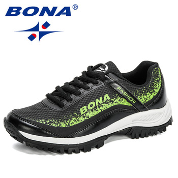 BONA 2020 New Arrival Stylish Woman Running Shoes Trendy Sneakers Women Jogging Walking Breathable Sports Footwear Ladies Comfy - discount item  34% OFF Sneakers