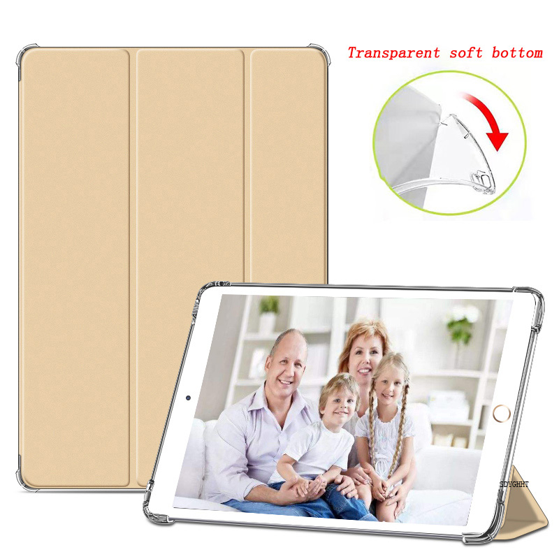 Gold Gold for iPad 2020 Air 4 10 9 inch Airbag Transparent matte soft protection Case For New