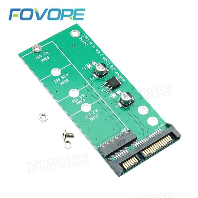 """Adaptador SATA M.2 SATA a M2 NGFF M2 M2.SATA, convertidor NGFF M.2, tarjeta SATA3 de 2,5"""""""