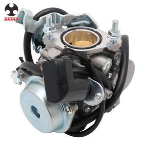 Image 3 - Carburador de motocicleta con Power Jet, para Majesty YP250 Linhai 250 Marquesa TK 250 ATV